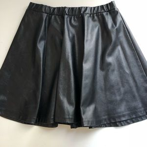 Faux Leather Skirt ☺️👍